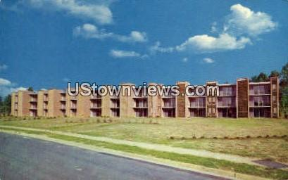 Green Oaks Garden Apartments - Charlotte, North Carolina NC Postcard