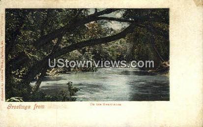 Swannanoa - Asheville, North Carolina NC Postcard
