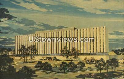 Charlotte Memorial Hospital - North Carolina NC Postcard