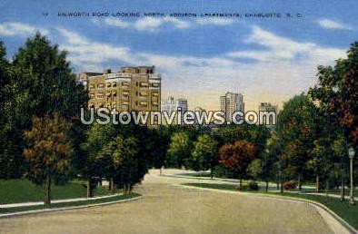 Addison Apartments - Charlotte, North Carolina NC Postcard