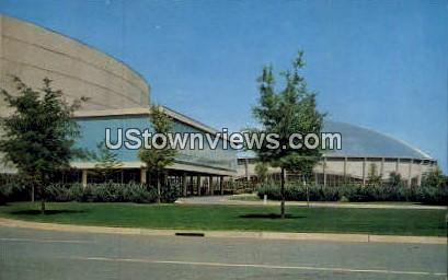 Oven Auditorium - Charlotte, North Carolina NC Postcard