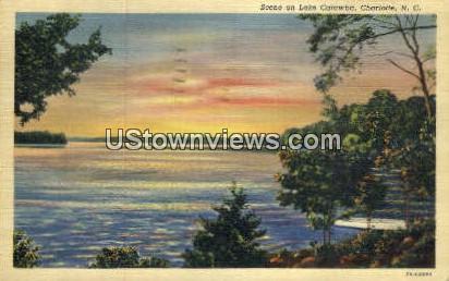 Lake Catawba - Charlotte, North Carolina NC Postcard