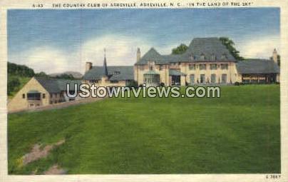 Country Club of Asheville - North Carolina NC Postcard