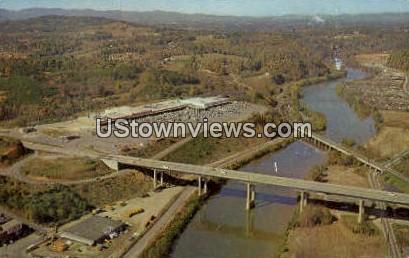 Westgate Shopping Center - Asheville, North Carolina NC Postcard