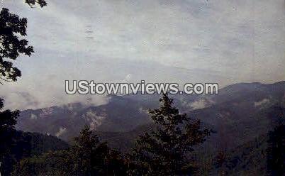 Heintooga Overlook - Great Smoky Mountains National Park, North Carolina NC Postcard
