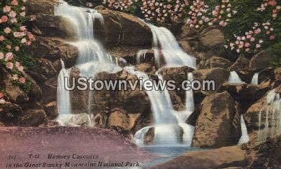 Ramsey Cascades - Great Smoky Mountains National Park, North Carolina NC Postcard