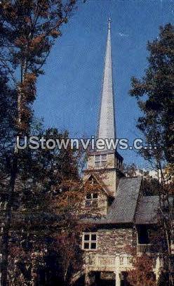 William F. Chatlos Memorial Chapel - Asheville, North Carolina NC Postcard