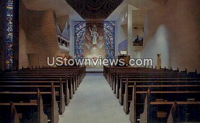 St. Mark's Lutheran Church - Charlotte, North Carolina NC Postcard