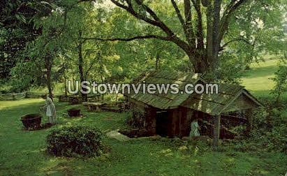 Vance Birthplace - Asheville, North Carolina NC Postcard