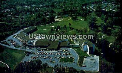 Great Smokies Hilton Resort - Asheville, North Carolina NC Postcard