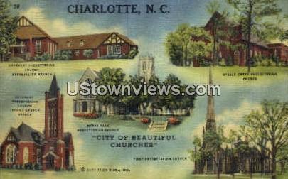 Myers Park Presbyterian Church - Charlotte, North Carolina NC Postcard