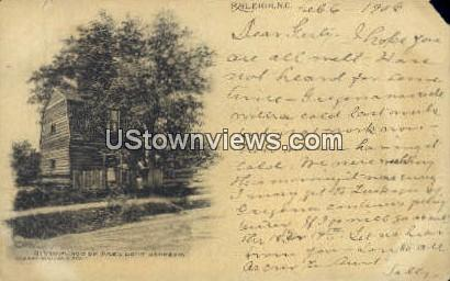 Birthplace of President Johnson - Raleigh, North Carolina NC Postcard