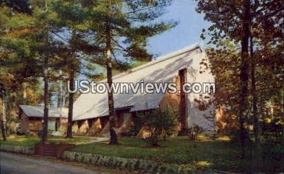 A.R. Presbyterian Chapel - Flat Rock, North Carolina NC Postcard