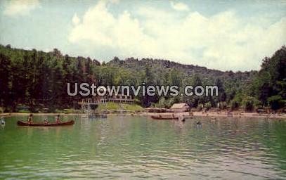 Laurel Park Lake Inn - Hendersonville, North Carolina NC Postcard