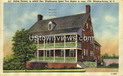 Salem Tavern - Winston-Salem, North Carolina NC Postcard