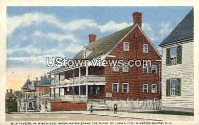 Old Tavern - Winston-Salem, North Carolina NC Postcard