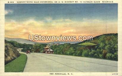 Swannanoa, Black Mountain - Asheville, North Carolina NC Postcard