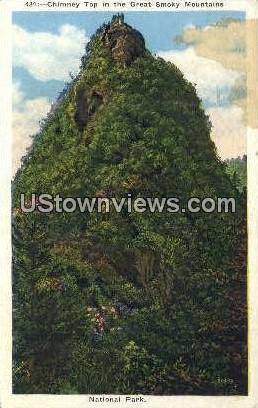 Great Smoky Mountains National Park, North Carolina, NC, Postcard