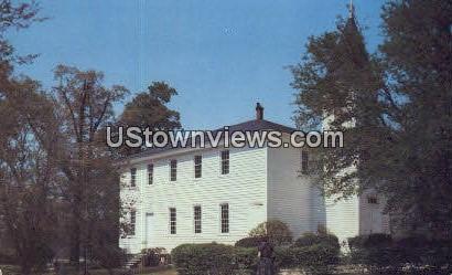 Bethesda Presbyterian Church - Aberdeen, North Carolina NC Postcard