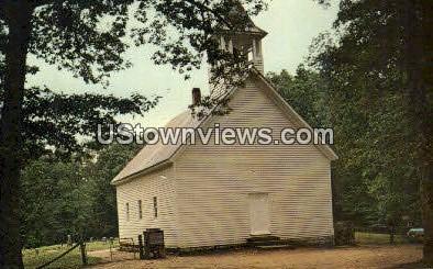 Primitive Baptist Church - Great Smoky Mountains National Park, North Carolina NC Postcard