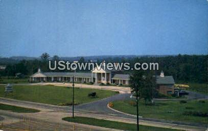 Colonial Motor Court - Concord, North Carolina NC Postcard