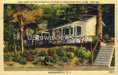 Laurel Park Inn - Hendersonville, North Carolina NC Postcard
