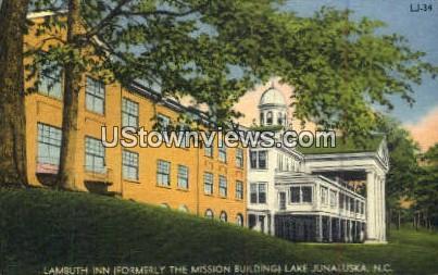Lambuth Inn - Lake Junaluska, North Carolina NC Postcard