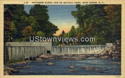Buffalo Creek - Lenoir, North Carolina NC Postcard