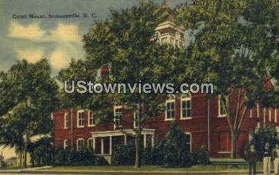 Court House - Jacksonville, North Carolina NC Postcard