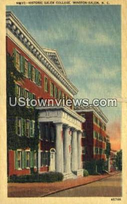 Historic Salem College - Winston-Salem, North Carolina NC Postcard
