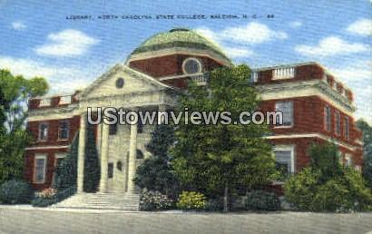 NC State College - Raleigh, North Carolina NC Postcard