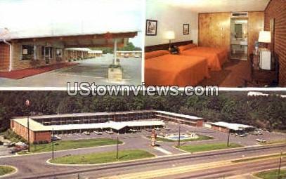 Ranch Motel & Restaurant - Raleigh, North Carolina NC Postcard