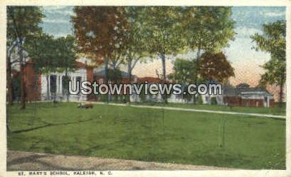 St. Mary's School - Raleigh, North Carolina NC Postcard