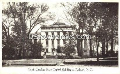 NC State Capitol - Raleigh, North Carolina NC Postcard