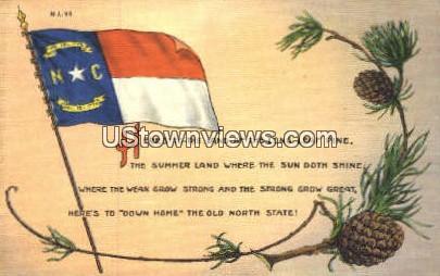 Misc, North Carolina, NC, Postcard