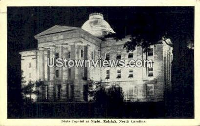 State Capitol - Raleigh, North Carolina NC Postcard