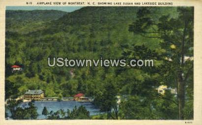 Lake Susan - Montreat, North Carolina NC Postcard