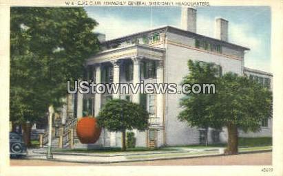 Elk's Club - Misc, North Carolina NC Postcard