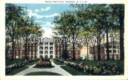 Peace Institute  - Raleigh, North Carolina NC Postcard