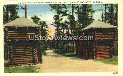 Fort Raleigh - Roanoke Island, North Carolina NC Postcard