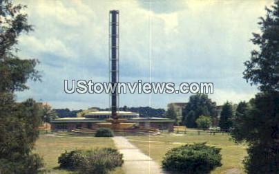 Nuclear Reactor Bldg - Raleigh, North Carolina NC Postcard
