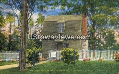 Birthplace of Pres Johnson - Raleigh, North Carolina NC Postcard