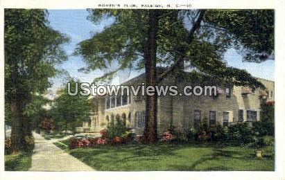 Women's Club - Raleigh, North Carolina NC Postcard