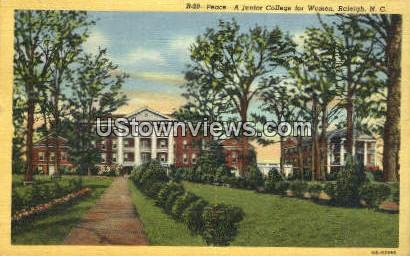 Junior College for Women - Raleigh, North Carolina NC Postcard
