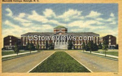 Meredith College - Raleigh, North Carolina NC Postcard