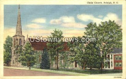 Christ Church - Raleigh, North Carolina NC Postcard