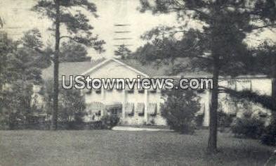 Colonial Pines Hotel - Raleigh, North Carolina NC Postcard