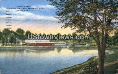 Pullen Park - Raleigh, North Carolina NC Postcard