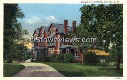 Governor's Mansion - Raleigh, North Carolina NC Postcard