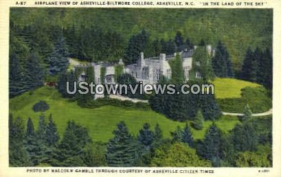 Asheville-Biltmore Hotel - North Carolina NC Postcard